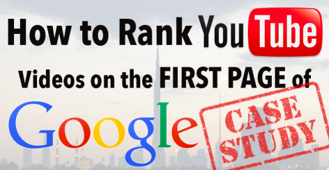 Preview: How to Rank YouTube Videos on the First Page of Google