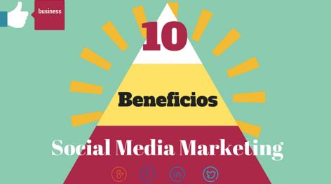 Vista preliminar: 10 beneficios que el Social Media puede dar a tu empresa