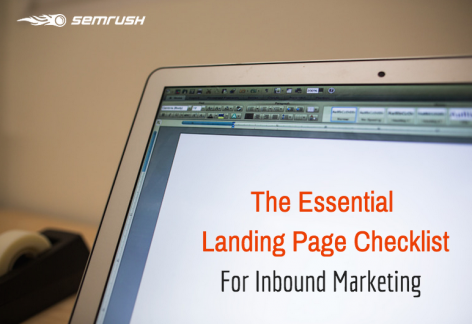 Preview: The Essential Landing Page Checklist for Inbound Marketing