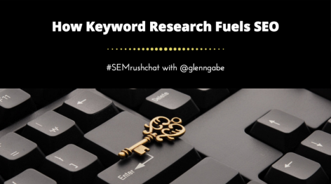Preview: Keyword Research for SEO #semrushchat