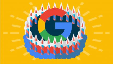 Preview: Google News Digest: Google's 20th Anniversary, New SERP Features & Ad Types