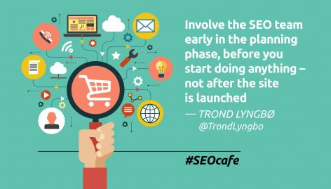 Preview: SEO for E-commerce #SEOcafe