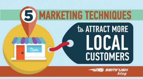 Preview: 5 Marketing Techniques to Attract More Local Customers