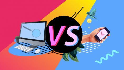 Vista preliminar: Escritorio vs móvil: diferencias en las SERPs