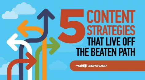 Preview: 5 Content Strategies That Live Off the Beaten Path