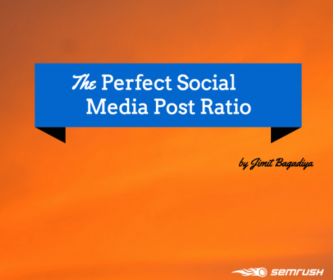Preview: The Perfect Social Media Post Ratio
