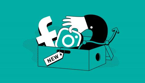 Visualização: Gestão de anúncios no Facebook e Instagram: Novidades da SEMrush [Abril 2020]