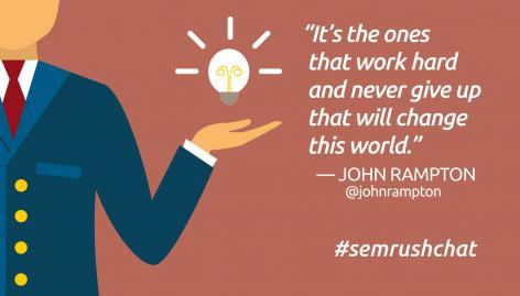 Preview: The Art of Entrepreneurship #semrushchat