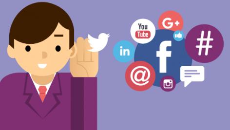 Visualização: Ouvindo sinais das mídias sociais: exemplos das marcas grandes