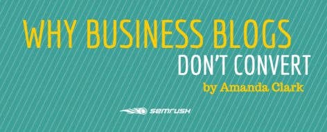 Preview: Why Business Blogs Don't Covert