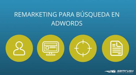 Vista preliminar: Remarketing para Búsqueda en Adwords | SEMrush