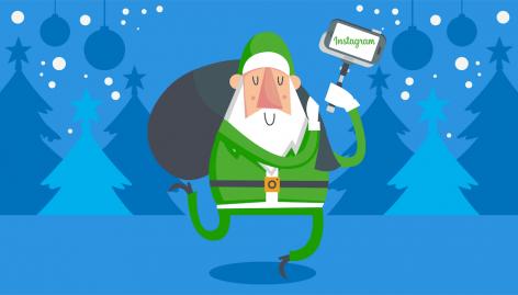Anteprima: Cosa pubblicare su Instagram a Natale? Idee per un account aziendale