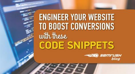 Preview: Engineer Your Website to Boost Conversions with These Code Snippets [Checklist]