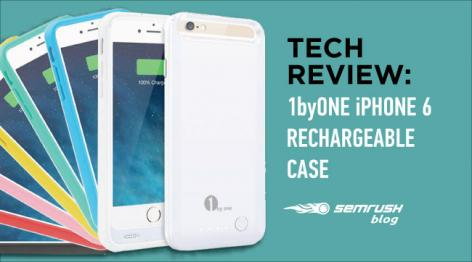 Preview: Tech Review: 1byOne iPhone 6 Rechargeable Case