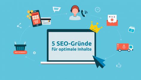 Vorschau: Content-Marketing für Onlineshops: Fünf gute SEO-Gründe für optimale Inhalte