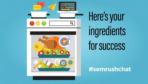 Preview: The Thanksgiving Recipe for Digital Marketing Success #semrushchat