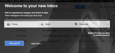Preview: Email Marketing: 40% of Our Gmail Users Don't Have the Promotions Tab On