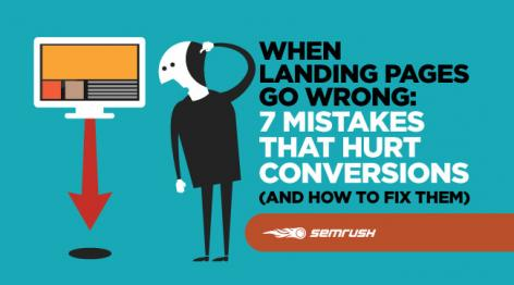 Preview: When Landing Pages Go Wrong: 7 Mistakes That Hurt Conversions (and How to Fix Them)