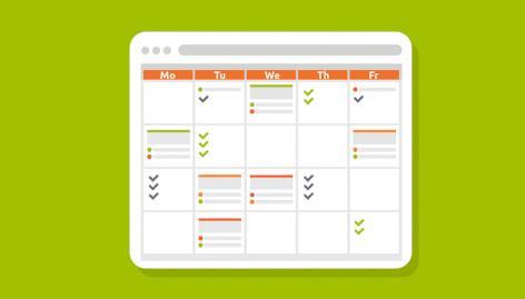 Anteprima: Calendario editoriale di un blog in estate