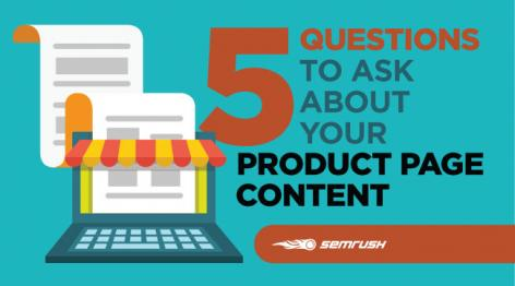 Preview: 5 Questions to Ask About Your Product Page Content