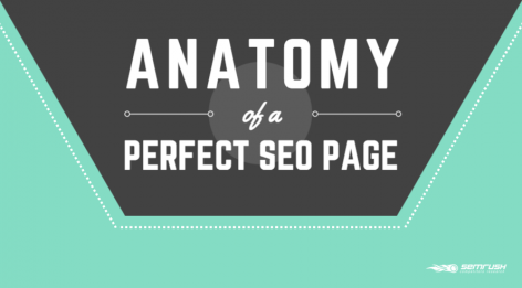 Preview: The Anatomy of a Perfect SEO Page