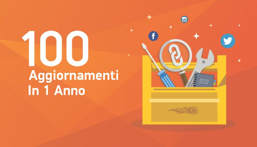 1 anno, 100 Update, 1 milione di utenti: il 2016 per SEMrush