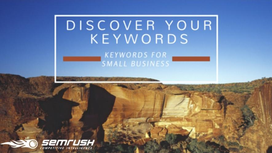 How to Find Keywords in SEMrush