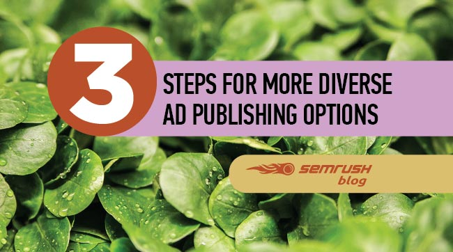 3 Steps for More Diverse Ad Publishing Options
