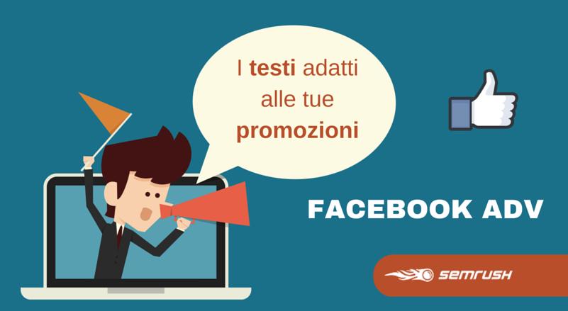 Facebook ADV: come sedurre con le parole giuste