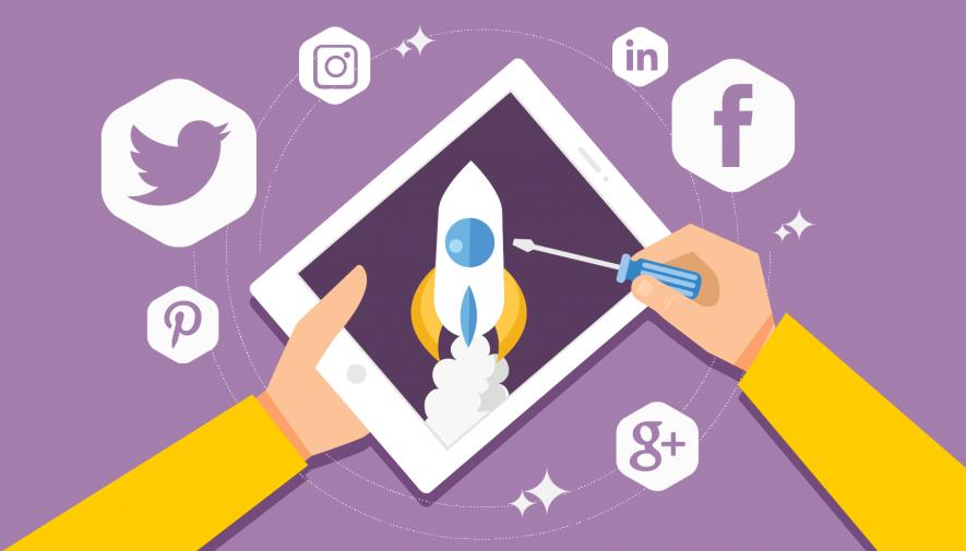 La boîte à outils des réseaux sociaux pour une startup