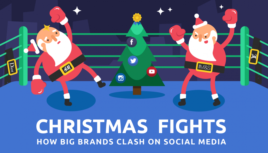 Christmas Fights: How Big Brands Clash On Social Media
