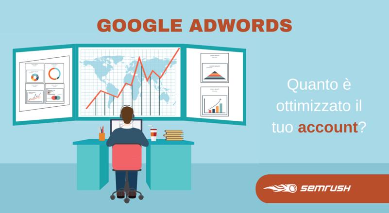 Come ottimizzare un account di Google AdWords #Infografica