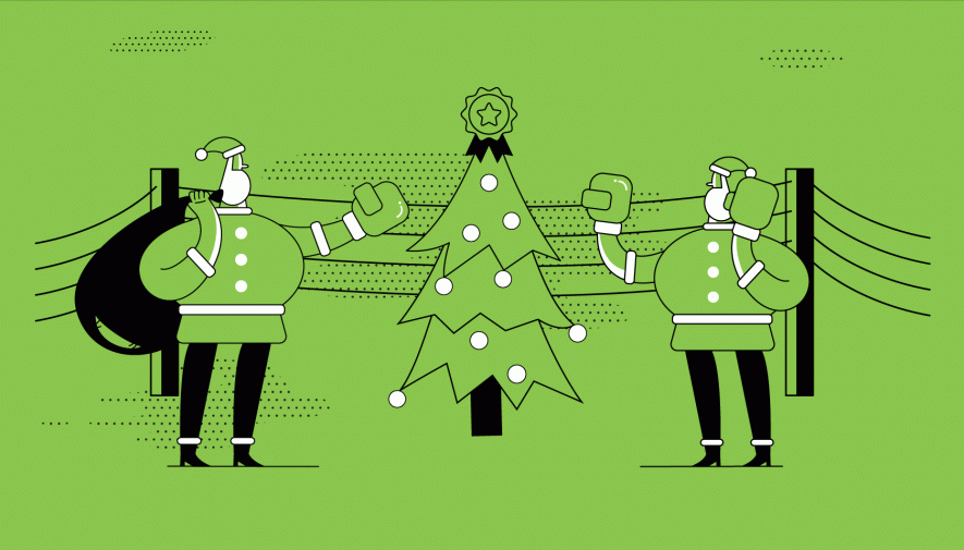How Brands Clash on Social Media: Christmas Battle