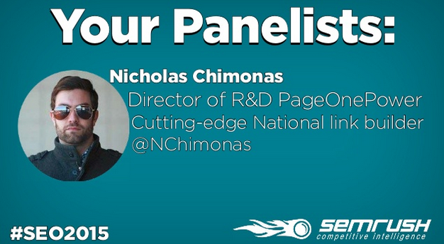 SEMrush Q&A: Page One Power Head of R&D Nicholas Chimonas