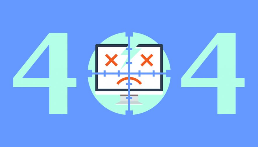 Pagina 404: come trasformare un errore in una Opportunità