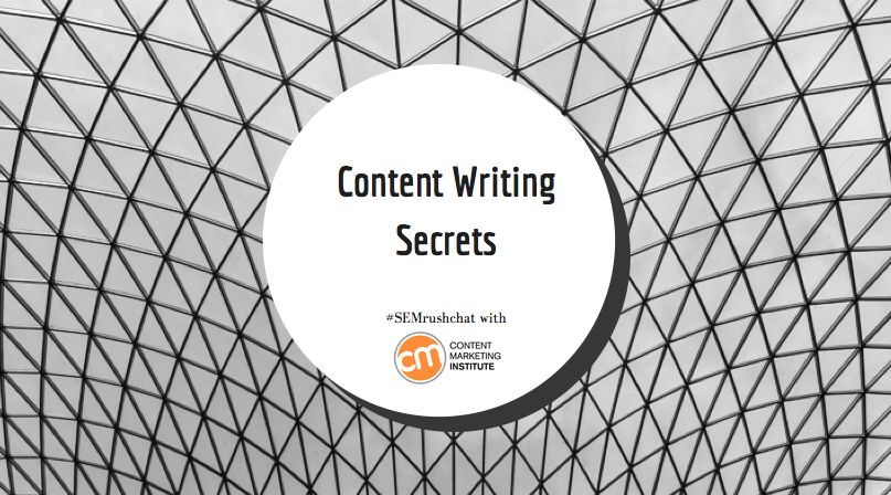 How to Write High-Quality Content #semrushchat