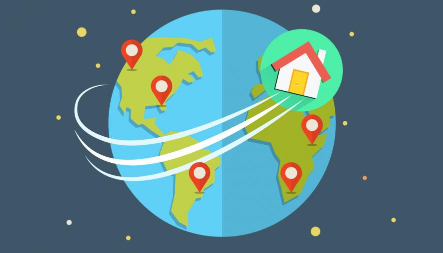 International SEO: what problem is there with the home page?