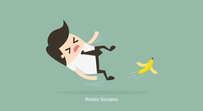 10 Errores comunes en redes sociales para empresas