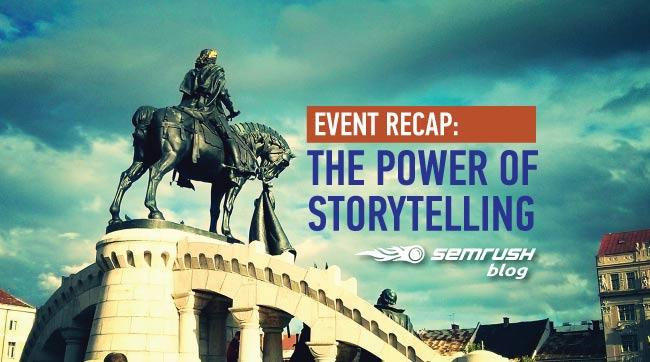 Event Recap: The Power of Storytelling