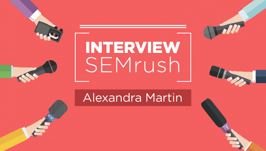 Interview avec Alexandra Martin - Miss SEO Girl