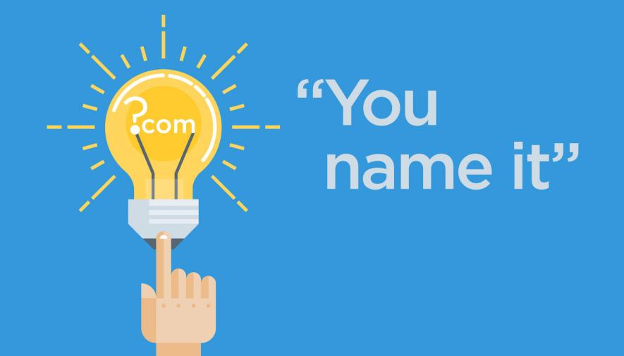 5 Ways To Generate Website Domain Name Ideas