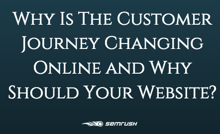 Why Is The Customer Journey Changing Online and Why Should Your Website?
