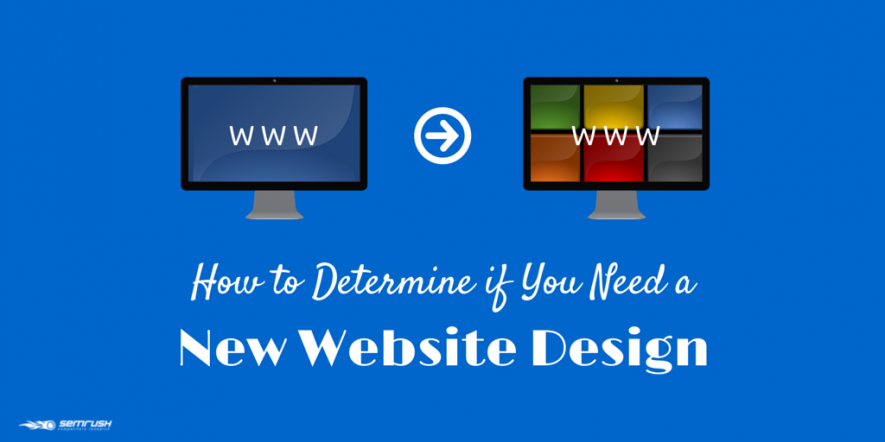 How to Determine if You Need a New Website Design