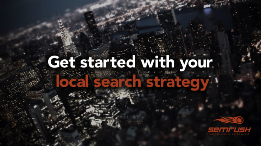 Get Started with Your Local Search Strategy
