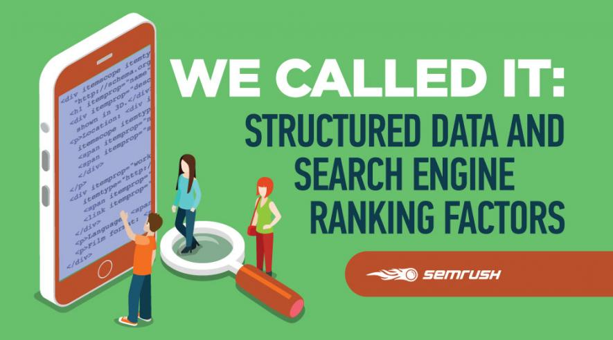 We Called It: Structured Data and Search Engine Ranking Factors