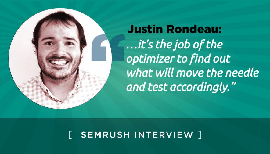 Interview: Justin Rondeau of Digital Marketer on Driving Website Leads
