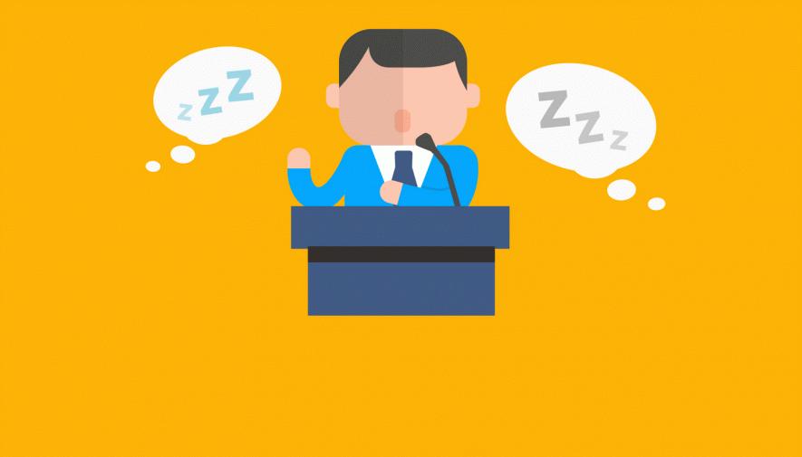 Al hablar en público, ¿qué 7 errores son los más típicos?