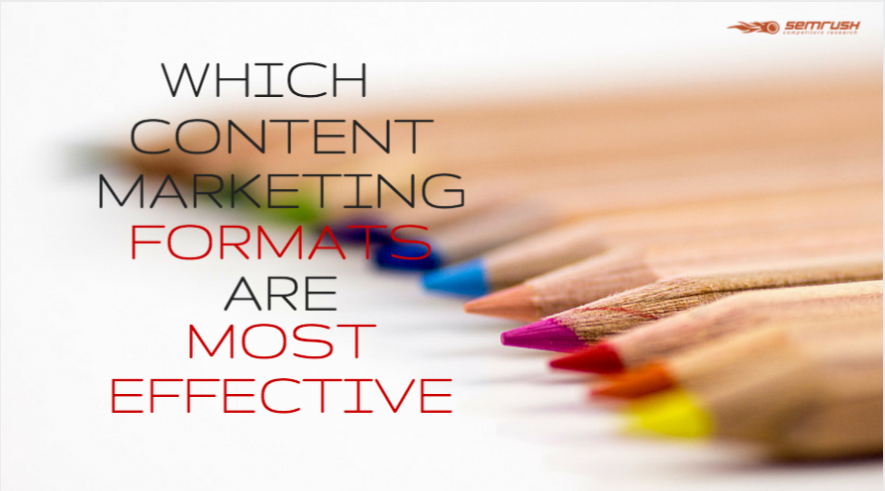 Which Content Marketing Formats Are Most Effective?