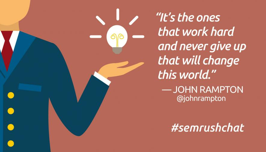 The Art of Entrepreneurship #semrushchat