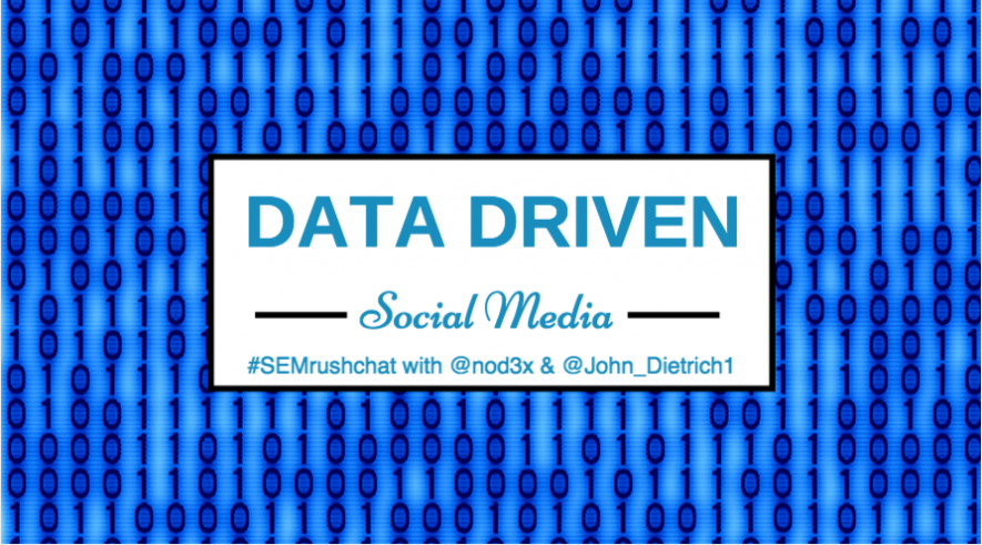 Data Driven Social Media #semrushchat
